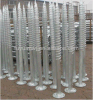 High Quality Hot DIP Galvanized Screw Anchor for Fence (factory)