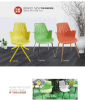 Plastic Chair Dining Chair Visitor Chair (FECNC348)
