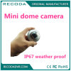 IP67 Waterproof Vandalproof Vehicle Mounted Car Cameras 700tvl Mini Metal Dome