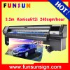 Funsunjet Fs-3208n Digital Solvent Large Format Printer (3.2m, KONICA heads, fast speed)