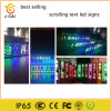 P10 Outdoor Scrolling Message LED Moving Sign Yellow Color