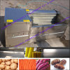 Brush Vegetable Fruit Washing Peeling Processing Machine