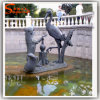China Supplier Art Sculpture Animal Stone Sculpture Metal Stone