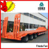60ton 3-Axle Low Flatbed Semi Trailer Low Price Sale