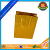 Luxury Gold Card Paper Bag with Flashy Material