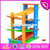 New Design 5 Levels Children Funny Wooden Race Car Track Toy W04e050