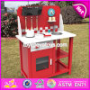 New Design Children Play Kitchen Set Boys Wooden Pretend Kitchen Set W10c291