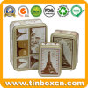 Customized Rectangular Vintage Tin Box Set From Chinese OEM Factory