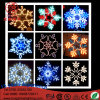LED Fairy Light Snow Flake Modeling Rope Light Christmas Decoration