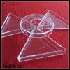 Heat Resistant Fused Clear Quartz Glass Pan Heater