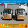 Classic 14 Seater Enclosed off Road Golded Electric Sightseeing Bus with Ce & SGS Certification
