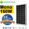 Monocrystalline 150W 160W 170W Solar Panel on The Roof