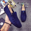 Four Seasons New Style Fashion Suede Wholesale Driving Wear Daily Wear Men′s Casual Shoes