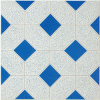 Blue Building Material Ceramic Tile