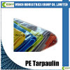 Laminated Tarpaulin Waterproof Fabric for Super Market, UV Stabilized PE Tarpaulin
