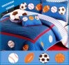 4 PCS Kids Bedding Printed Cotton Bedspread
