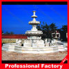 Large White Marble Fountain for Garden Decoration