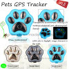 2017 GPS+Lbs+Agps +WiFi Waterproof Pet GPS Tracker with Light V30