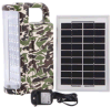 Military Camouflage Solar Emergency Light