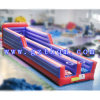 Two Lanes Adult Inflatable Bungee Run/Basketball Inflatable Sports for Kids