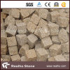 "4""X4""X4"" Rustic Yellow Granite Paving Stone/Cobblestone/Paver/Cobble Stone/Cubic/Cube for Garden Walkway, Pathway, Driveway"