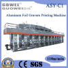 Aluminum Foil Computer Control 6 Color Gravure Printing Machine (paper, gluing machine)