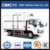 Isuzu Refrigerated Truck 5 Tons Freezer Van Truck Themoking