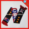 Holland Acrylic Custom Knit Football Scarf