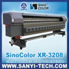 3.2m Xr-3208 Digital Solvent Printer, with Xaar Proton 382 Heads