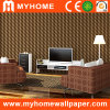 Popular Modern 3D Vinyl Wallpaper for Home Decoration