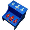 Robot Children Furniture Kids Wooden Storage Step Stool (BS-01)