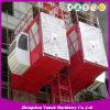 Double Cage Construction Lifter Construction Hoist Construction Elevator