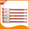 Plasitc Barcode Entertainment Logo Customized Identify ID Bracelet Wristband (E8027-2-13)