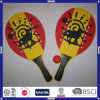 Promotional Cheap Custom Logo MDF Beach Racket