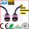 Metal Case Corrosion Resistant Two Images Ethernet HDMI Cable