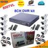 8 Channel DVR Kit with Sony 800tvl Bullet Camera