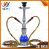 Double Pipes Shisha Dubai Al Fakher Clear Glass Hookah