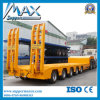Bulk Cargo & Container 4 Axles Semi Trailer