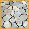 Natural Landscape Black/Rusty Slate Flagstone for Paving