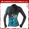 Hot Sale Sublimation Dry Fit Upf 50+ Ladies Rash Guard Manufacturer (ELTRGJ-277)