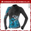 Hot Sale Sublimation Dry Fit Upf 50+ Ladies Rash Guard Manufacturer (ELTRGJ-277)