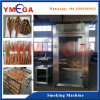Stainless Steel Smoking Room for Tuna Fish Fillet Catfish and Sausage