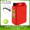 5/10/20L Red Plastic Auto Shut off Marine Fuel Gas Tank