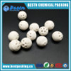 Industrial Catalyst Carrier Perforated Porous Alumina Ceramic Ball with Holes