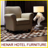 Luxury Vintage Khaki Leather Accent Chair/Living Room Sofa Furniture