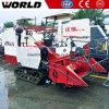 Rubber Track 4lz-4.0e Paddy Mini Rice Combine Harvester for Sale