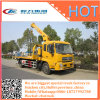 Flatbed Wrecker Dongfeng Rollback Tow Truck with 3.5ton Crane