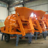 China Manufacturer Mobile Diesel Concrete Mixer with Pump for Sale