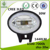 Factory Price 30W Chrome for Jeep LED Headlight