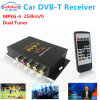 Car DVB-T MPEG-4 Digital TV Tuner Receiver Box (2 tuners) (M-618)